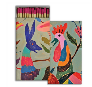 HAR Otomi Rooster and Deer Matches -  - Home Decor - Feliz Modern