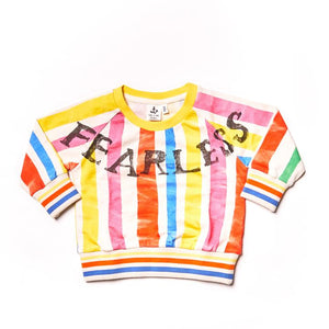 NAZ Multi Stripes Team Sweater -  - Kids Clothing - Feliz Modern