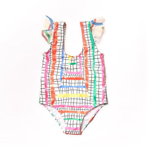 NAZ Olympic Steps Olympic Swimsuit -  - Kids Clothing - Feliz Modern