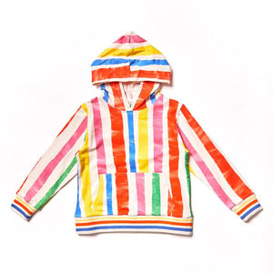 NAZ Multi Stripes Kid Hoodie -  - Kids Clothing - Feliz Modern
