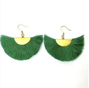 LMY Cleo Fan Earrings