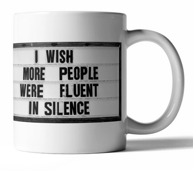 CPC Fluent In Silence Coffee Mug