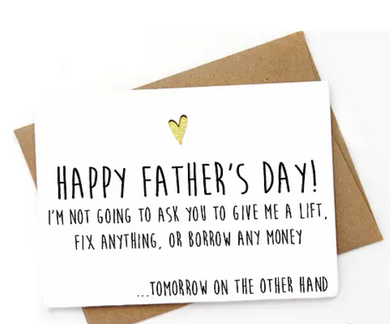 SPCA Happy Father's Day Card