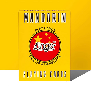 LNG Lingo Playing Cards -Mandarin -  - Game - Feliz Modern