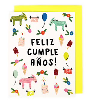 LILO Bright Birthday Card -  - Card - Feliz Modern