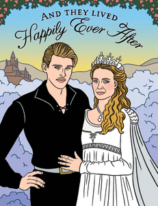 TFND Princess Bride Wedding Card