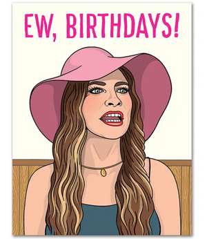 TFND Ew Birthdays Card -  - Card - Feliz Modern