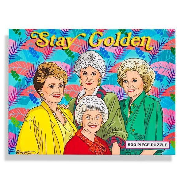 TFND Stay Golden Puzzle