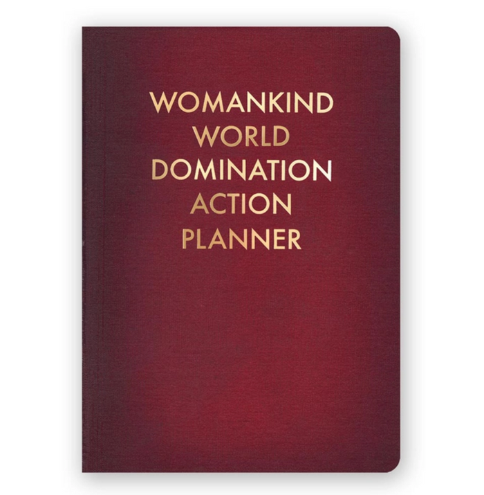 TMM Womankind World Domination Notebook