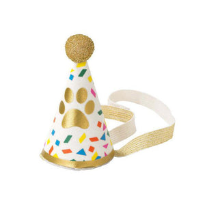 TTA Pawty Party Mini Fabric Hat for Dog Birthdays -  - Party Supply - Feliz Modern