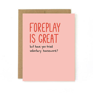 UNBG Foreplay Card -  - Card - Feliz Modern