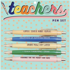 FCL Teachers Pen Set -  - Pen - Feliz Modern