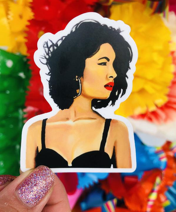 NAT Reina Red Lip Sticker