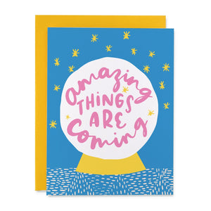 BLS Amazing Things Card -  - Card - Feliz Modern