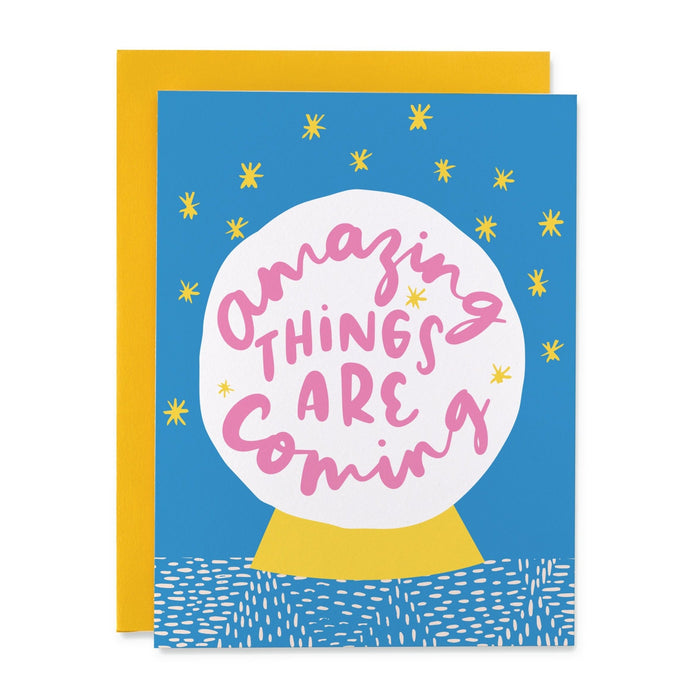 BLS Amazing Things Card