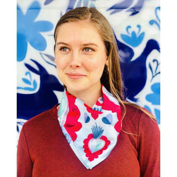 MPI corazon maguey scarf