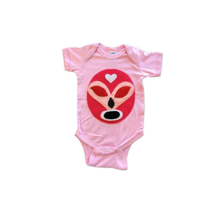 MCL Luchador Rosa Baby Onesie