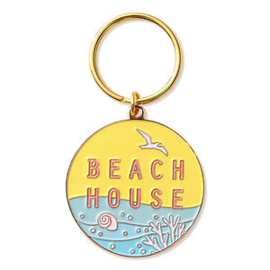 TFND Beach House Key Chain -  - Keychain - Feliz Modern