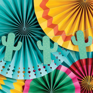 MMEY Cactus Garland Banner -  - Party Supply - Feliz Modern