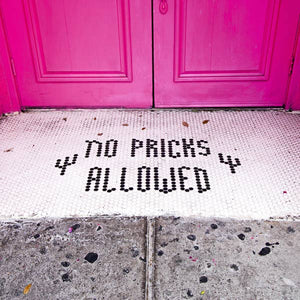 SOAG No Pricks Allowed Coaster -  - Coaster - Feliz Modern