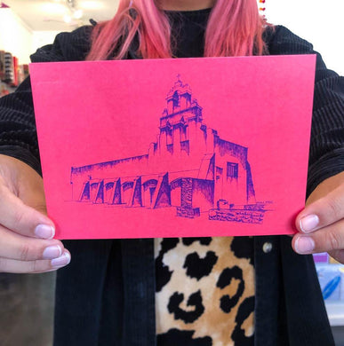ADO Red Mission San Juan Postcard 5x7