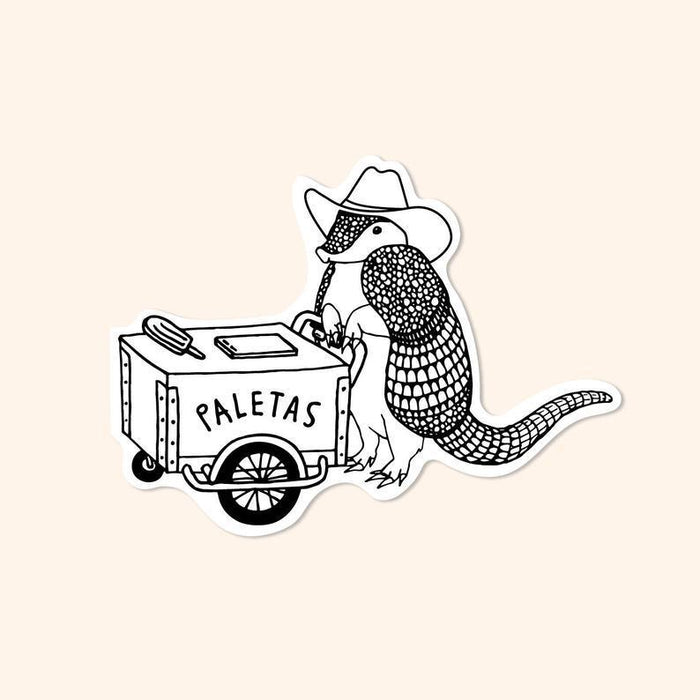 TNA Paleta Armadillo sticker