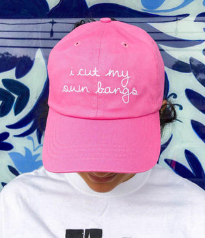 FMD I Cut My Own Bangs Hat -  - Hat - Feliz Modern