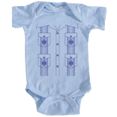FMD guayabera onesies and kid shirts