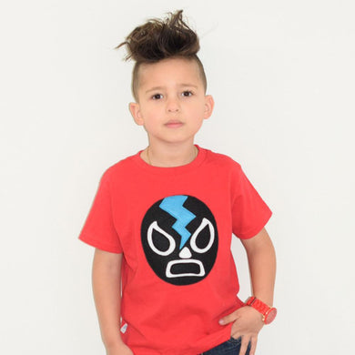 MCL Red Luchador Toddler Shirt