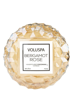 VLSPA Roses Macaron Candle (in-store or curbside only due to wax melting in shipment) - bergamot rose - Candle - Feliz Modern