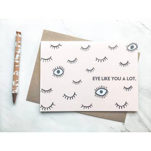 HAD Eye Like You A Lot Card -  - Card - Feliz Modern