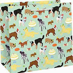 WNPC Birthday Dogs Gift Bag - Large - Gift Bag - Feliz Modern