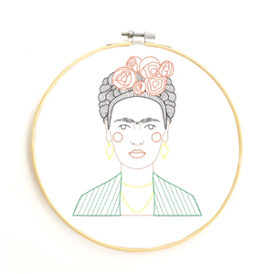 GGB Frida DIY Embroidery Kit -  - Embroidery Kit - Feliz Modern