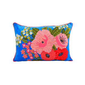 "KLC Floral Velvet Pillow 16x24"" (pickup or in-store only) -  - Home Decor - Feliz Modern"
