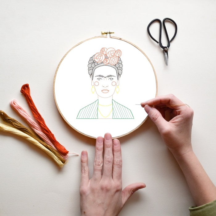 GGB Frida DIY Embroidery Kit