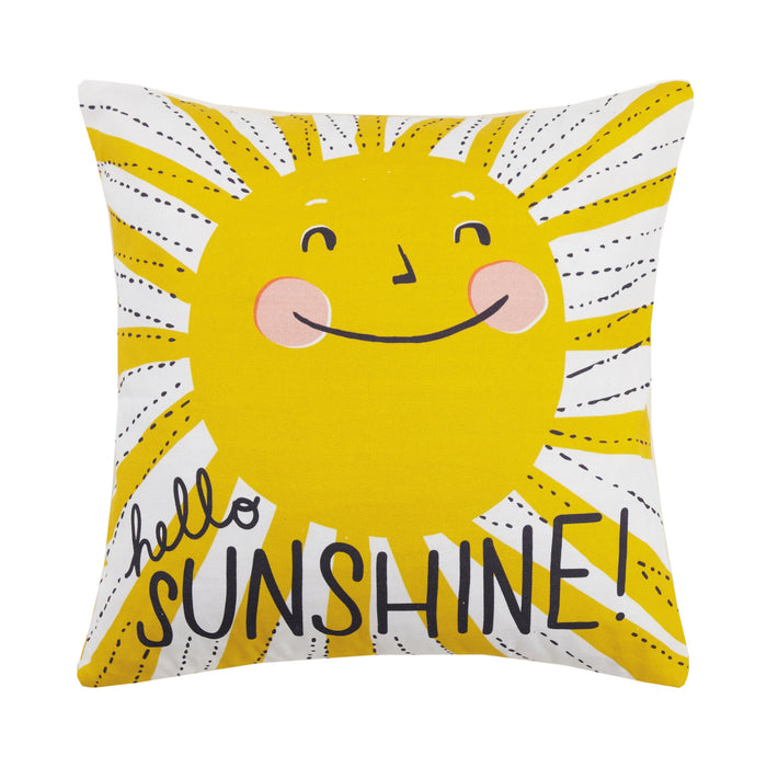 PEKH Hello Sunshine Printed Pillow (Curbside or in-store only)