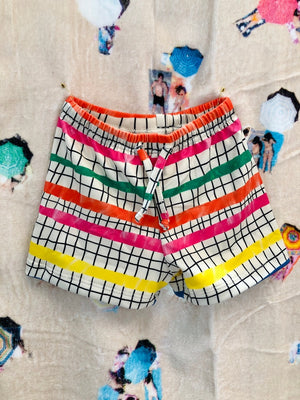 NAZ Olympic Steps Baby Swim Short -  - Baby Clothing - Feliz Modern