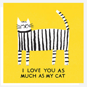 TPN Love Cat Card -  - Card - Feliz Modern