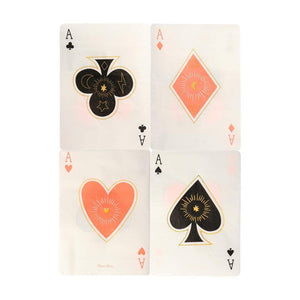 MM Magic Aces Napkins -  - Napkin - Feliz Modern