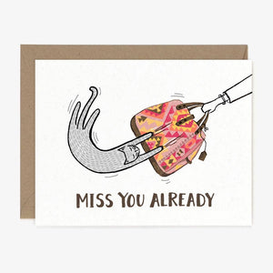 PPNY Miss You Already Card -  - Card - Feliz Modern