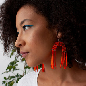 BDW Orange Kalama Earrings -  - Earring - Feliz Modern