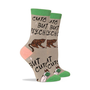 PTCH Cute But Psycho Socks -  - Socks - Feliz Modern