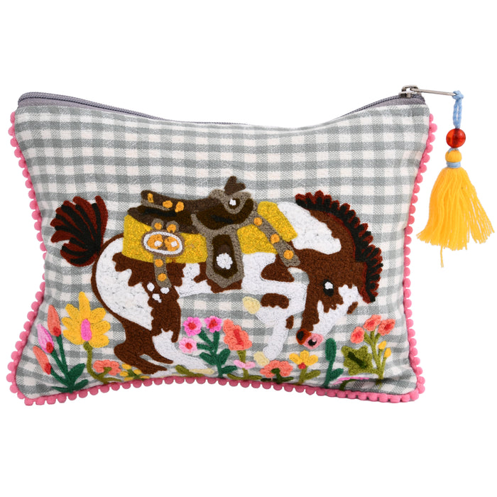 KLC Rodeo Bucking Horse Pouch
