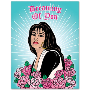 TFND Queen of Tejano Dreaming of You Card -  - Card - Feliz Modern