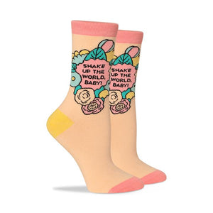 PTCH Shake Up The World Socks -  - Socks - Feliz Modern