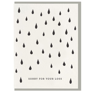 DPE Sorry For Your Loss Card -  - Card - Feliz Modern