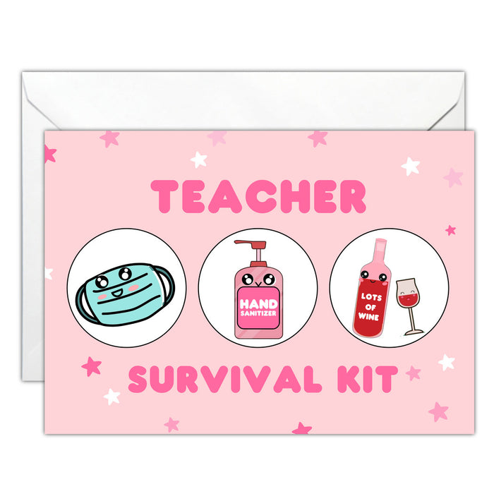 CSGC Teacher Survival Kit Card