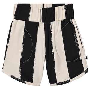 NAZ* Black Stripes Comfy Bermuda Shorts -  - Kids Clothing - Feliz Modern