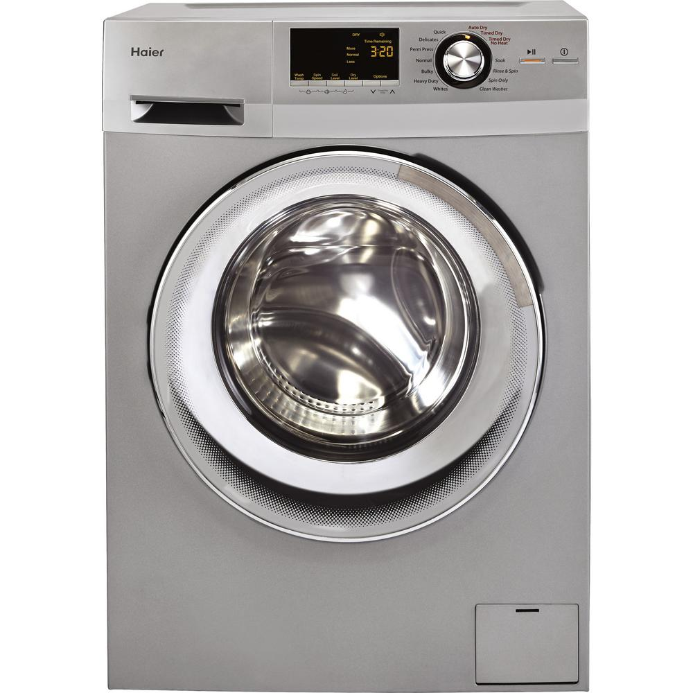 Haier Hlc1700axs 2 0 Cu Ft Electric Washer Dryer Combo