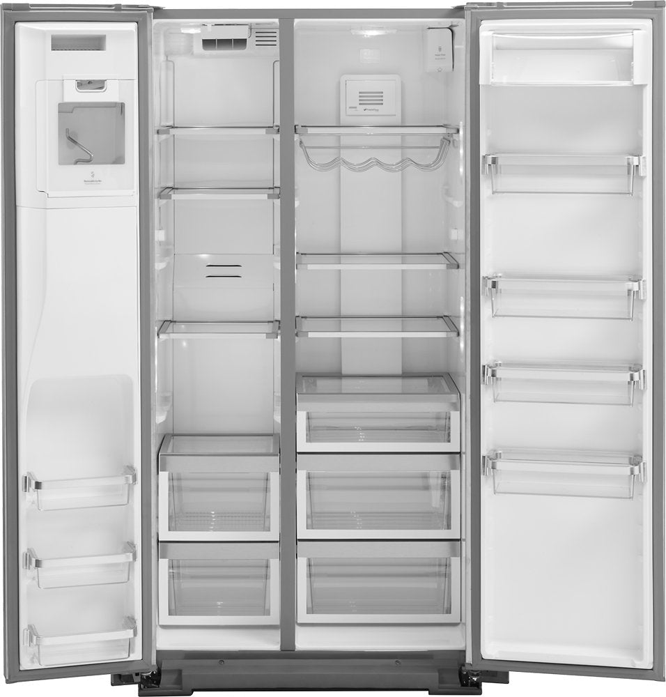 KitchenAid KRSC503ESS 22.7 Cu. Ft. Side-by-Side Refrigerator Stainless